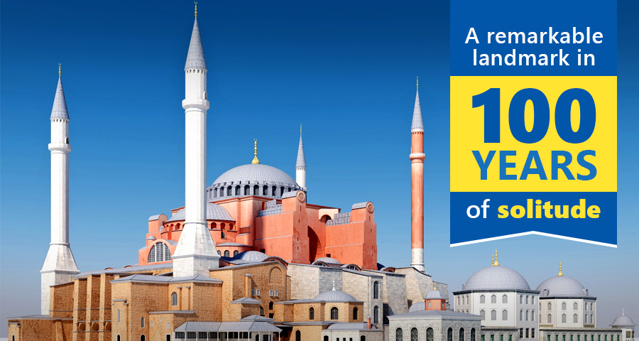 HAGIA SOPHIA – A brief history in time