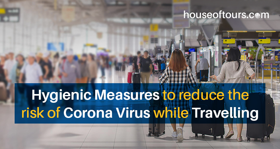 Measures to reduce the risk of Coronavirus while travelling