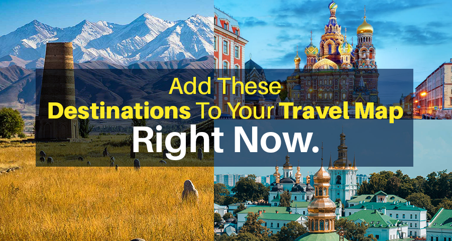 Add these destinations to your travel Map right now!!!