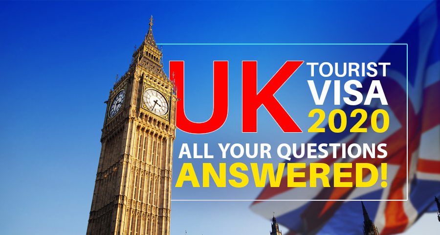 U K tourist visa 2020- All your Questions Answered